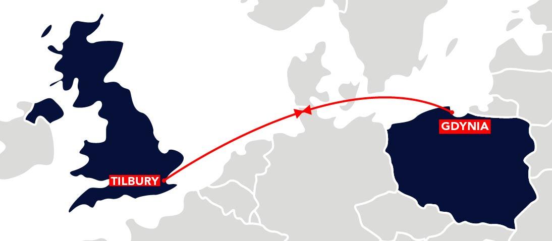 BALT V Route