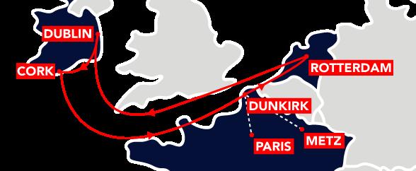 BENI II Route Map