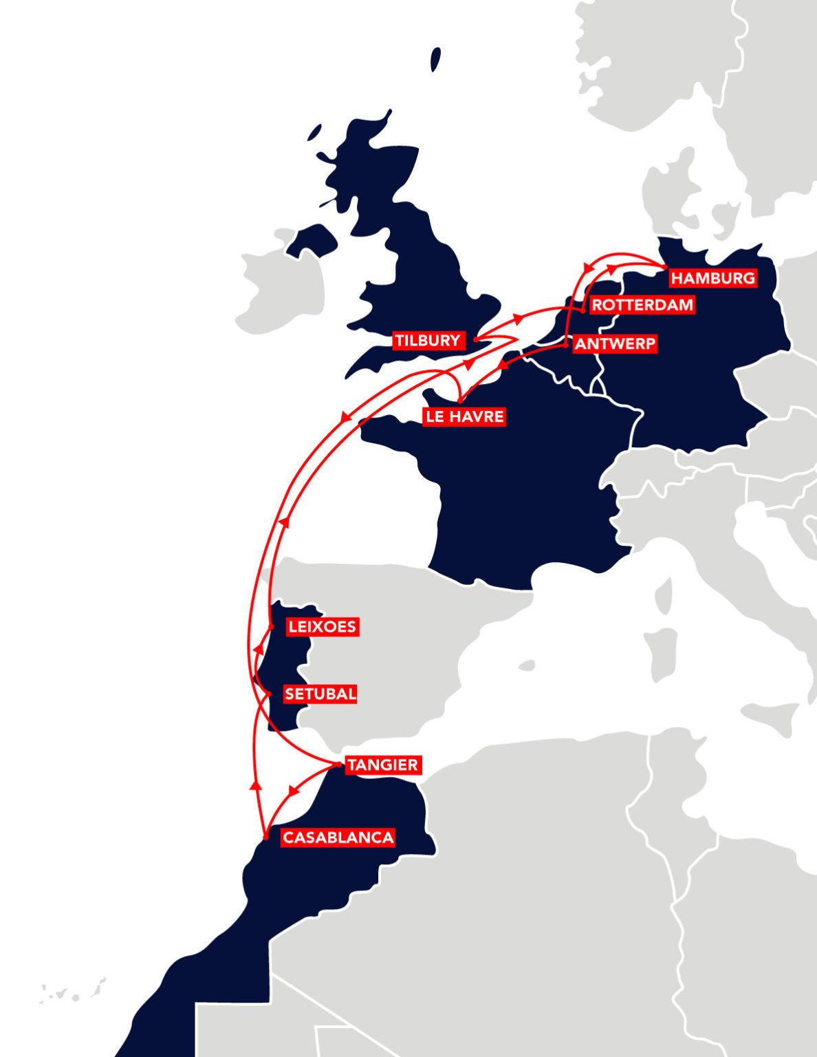 EUROMAR Route