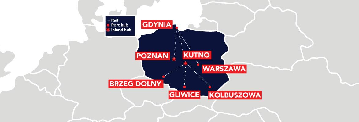 Poland rail