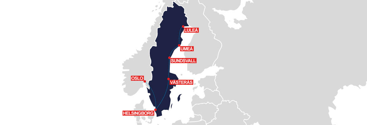 sweden rail