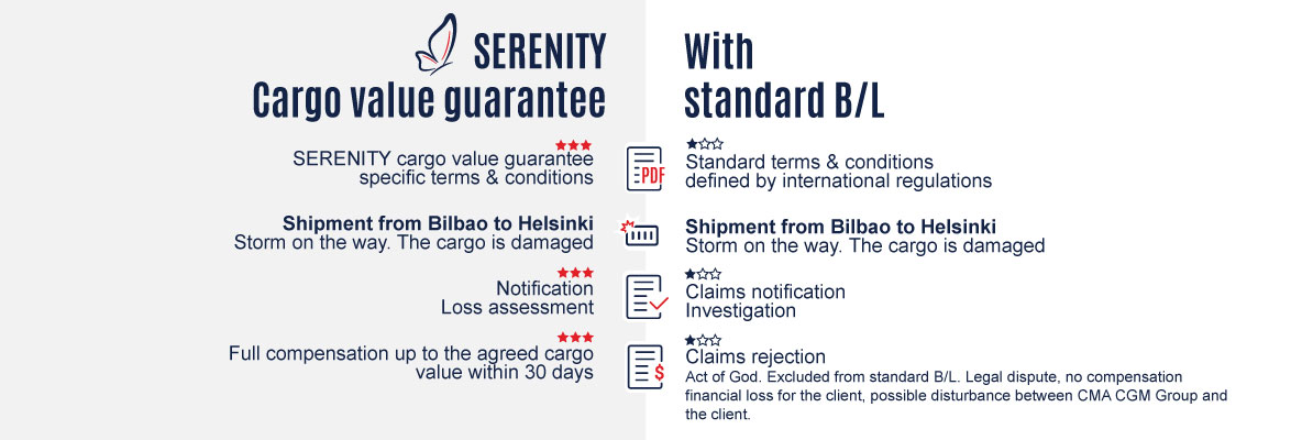 Serenity cargo value